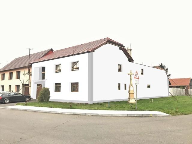 Obrázek 5 pro referenci Grafický návrh fasády RD před rekonstrukcí v odstínech CERESIT