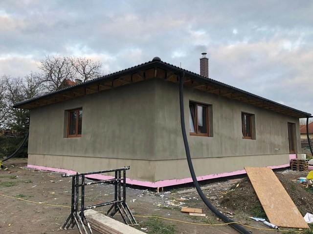 Obrázek 3 pro referenci Realizace zateplení RD šedým polystyrenem Ledce u Mladé Boleslavi | STAVBA 201007