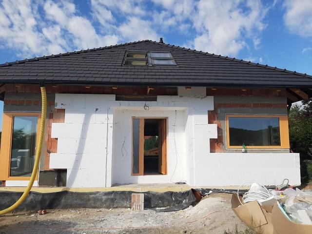 Obrázek 4 pro referenci Realizace zateplení RD polystyrenem a obkladem Lety u Dobřichovic | STAVBA 201027