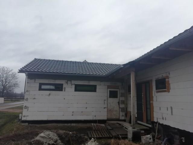 Obrázek 4 pro referenci Zateplení fasády RD bílým polystyrenem Rymice |  STAVBA 202012