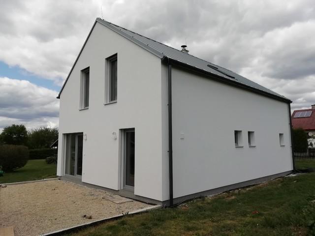 Obrázek 5 pro referenci Realizace finální omítky fasády RD Nový Malín   STAVBA 202004