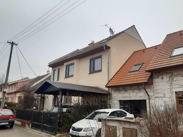 Obrázek 2 pro referenci Zateplení fasády RD  grafitovým polystyrenem Brno | STAVBA 202016