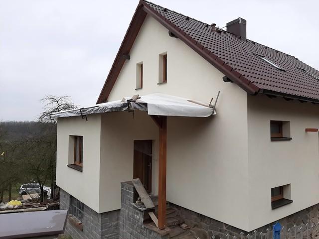 Obrázek 3 pro referenci Realizace zateplení RD fasádní minerální vatou  Čerčany | STAVBA 201037