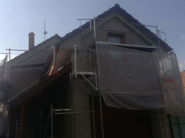 Obrázek 2 pro referenci Zateplení fasády RD šedým polystyrenem Velký Týnec | STAVBA 182006