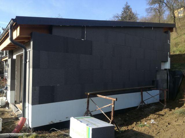 Obrázek 5 pro referenci Zateplení fasády RD šedým polystyrenem Zlín | STAVBA 172016