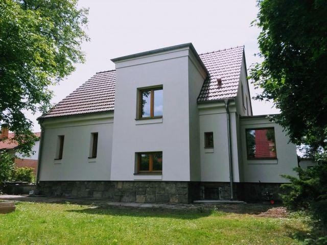 Obrázek 1 pro referenci Zateplení fasády RD šedým polystyrenem Praha | STAVBA 15004