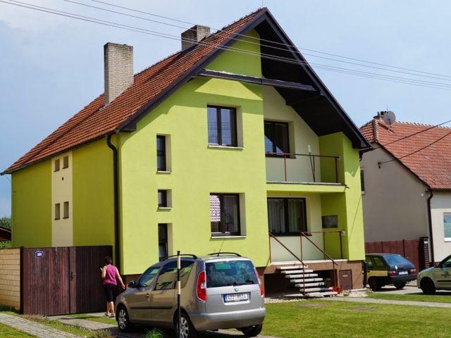 Obrázek 1 pro referenci Zateplení fasády RD grafitovým polystyrenem Kostelany nad Moravou | STAVBA 7002