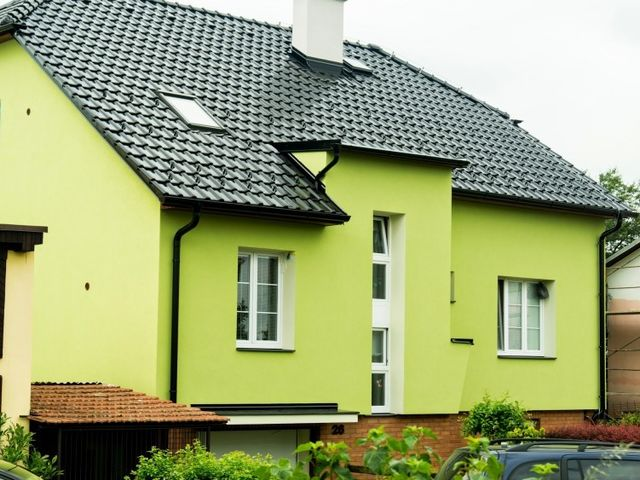 Obrázek 1 pro referenci Zateplení fasády RD šedým polystyrenem Rouské | STAVBA 7004