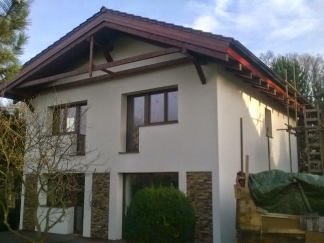 Obrázek 1 pro referenci Zateplení fasády RD šedým polystyrenem Světice u Říčan | STAVBA 7011