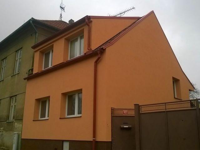 Obrázek 1 pro referenci Paropropustné zateplení fasády RD Chyňava | STAVBA 7023
