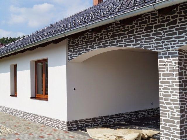 Obrázek 1 pro referenci Zateplení fasády RD šedým polystyrenem Dolní Nětčice | STAVBA 7024