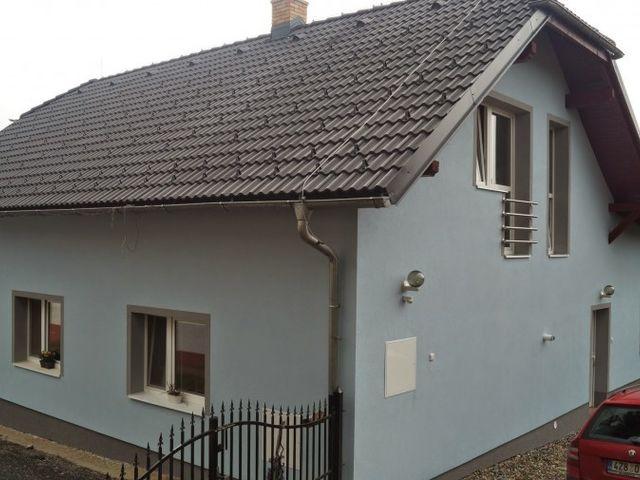 Obrázek 1 pro referenci Zateplení fasády RD bílým polystyrenem Oldřichovice