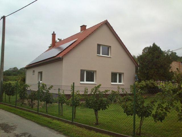 Obrázek 1 pro referenci Zateplení fasády RD šedým polystyrenem Jaroslavice | STAVBA 7018