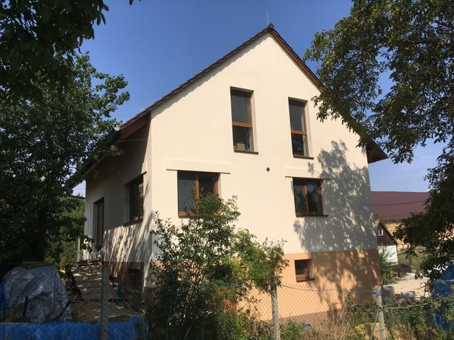 Obrázek 1 pro referenci Zateplení novostavby fasádní vatou Dvorek u Laškova | STAVBA 182016