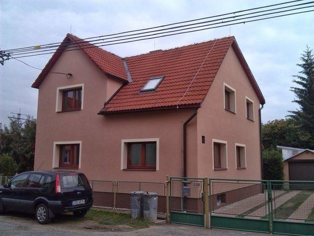Obrázek 1 pro referenci Zateplení fasády RD šedým polystyrenem Poličná - Valašské Meziříčí | STAVBA 6007
