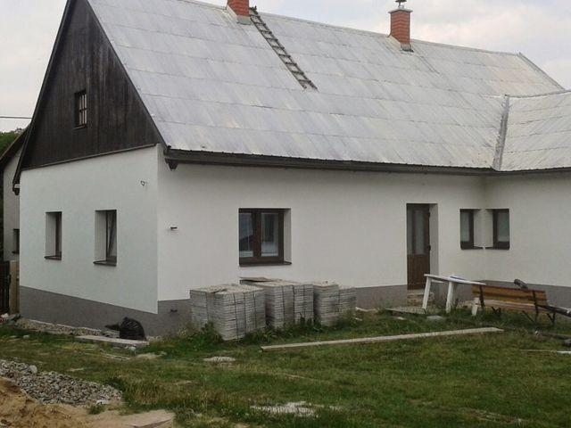 Obrázek 1 pro referenci Zateplení fasády RD fasádní vatou Branky -  Valašské Meziříčí | STAVBA 6002