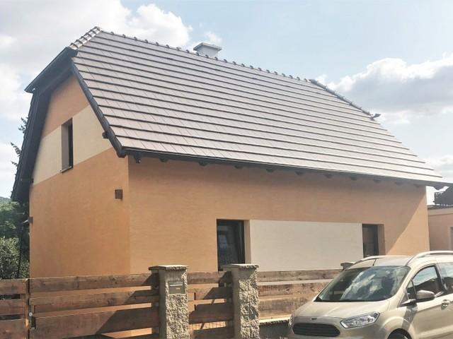 Obrázek 1 pro referenci Paropropustné zateplení fasády RD Dobřichovice | STAVBA 181026