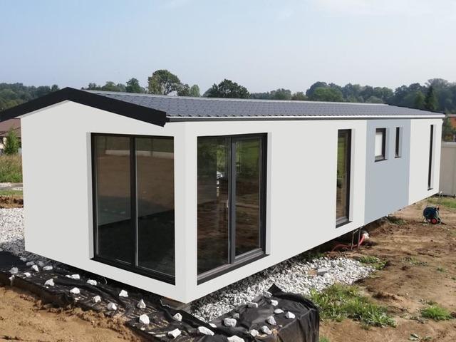 Obrázek 1 pro referenci Grafický návrh fasády dřevostavby v odstínech CERESIT