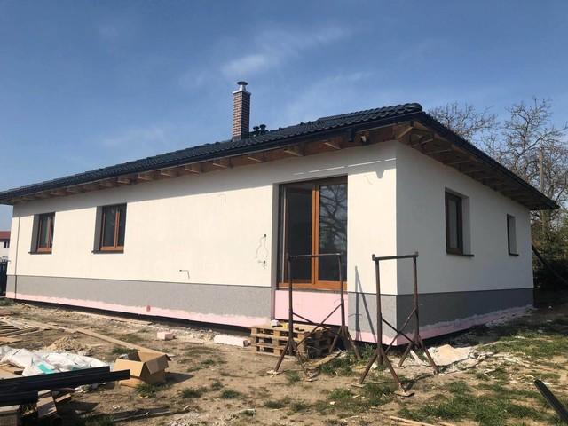 Obrázek 1 pro referenci Realizace zateplení RD šedým polystyrenem Ledce u Mladé Boleslavi | STAVBA 201007