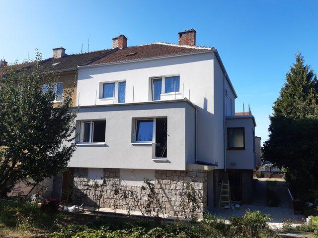 Obrázek 1 pro referenci Zateplení fasády RD šedým polystyrenem Brno | STAVBA 202020
