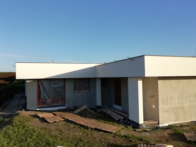 Obrázek 1 pro referenci Zateplení fasády RD bílým polystyrenem Určice |  STAVBA 202031