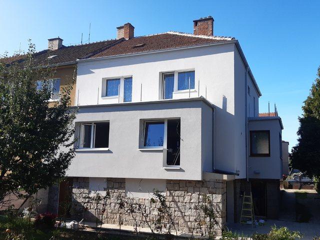 Obrázek 1 pro referenci Zateplení RD šedým polystyrenem, rekonstrukce terasy Brno | STAVBA 202020
