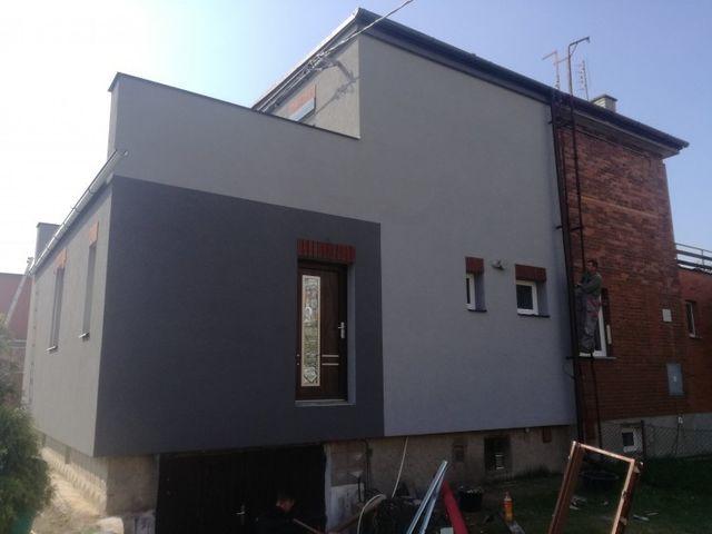 Obrázek 1 pro referenci Zateplení fasády RD Otrokovice, bílý fasádním polystyrenem | STAVBA 172021
