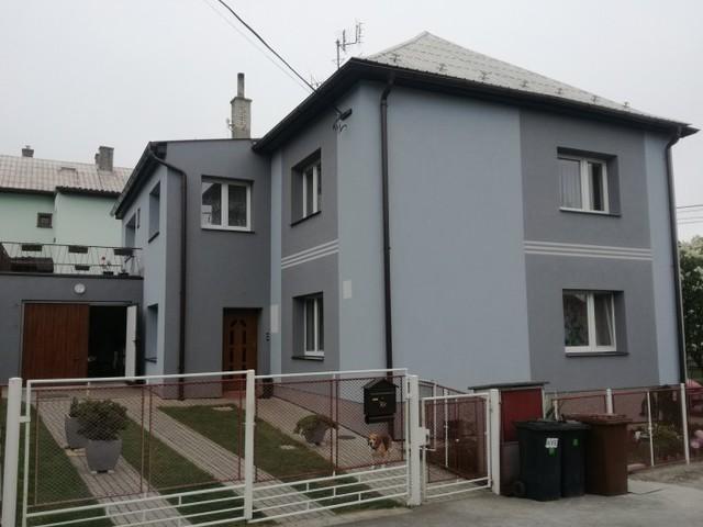 Obrázek 1 pro referenci Zateplení fasády RD Mořkov, šedým polystyrenem | STAVBA 182003