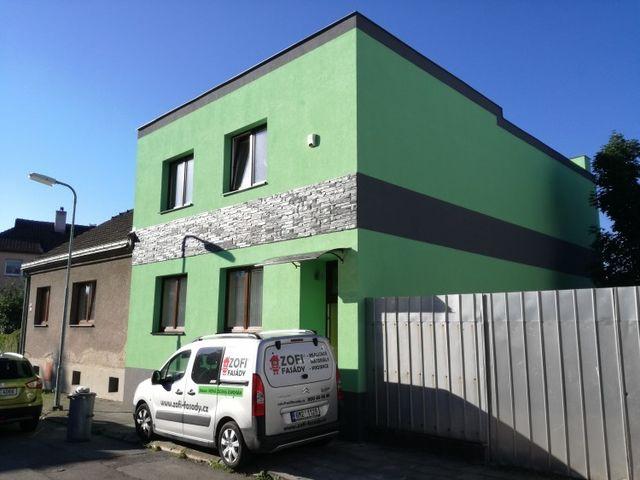 Obrázek 1 pro referenci Zateplení fasády RD šedým polystyrenem Přerov | STAVBA 173004