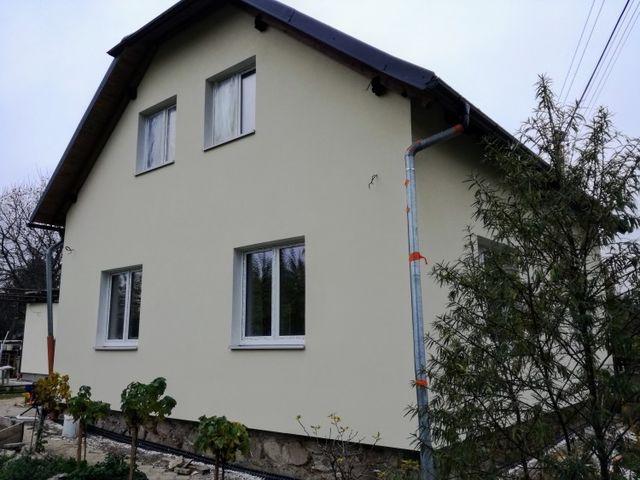 Obrázek 1 pro referenci Zateplení fasády RD bílým polystyrenem, Rapotín | STAVBA 16023